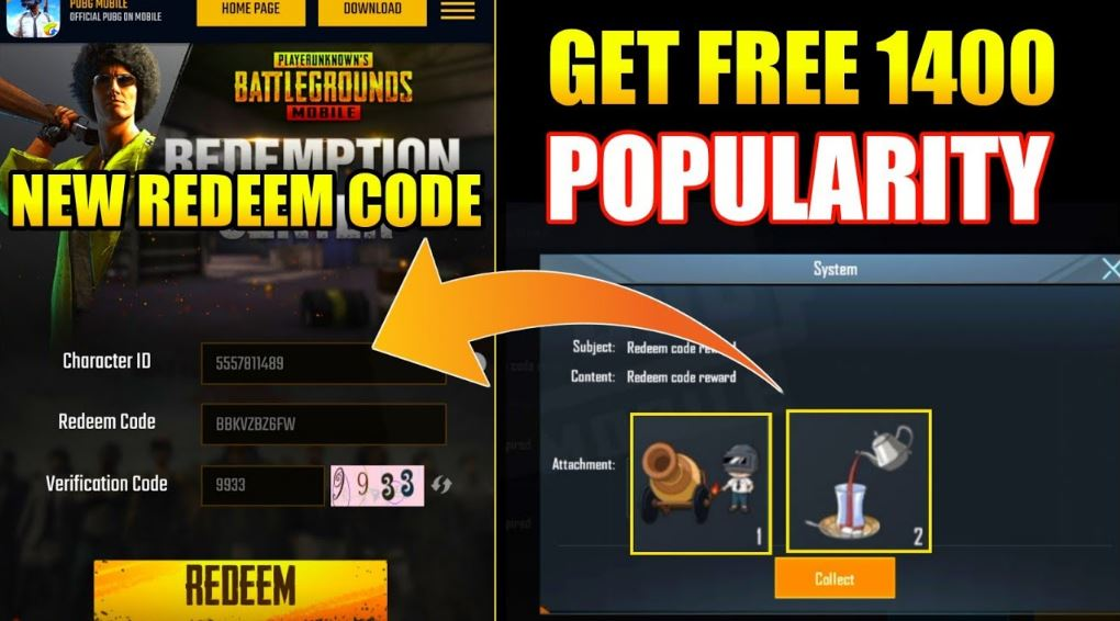 Today Pubg Mobile Redeem Codes - May 2020