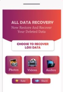 data recovery android application